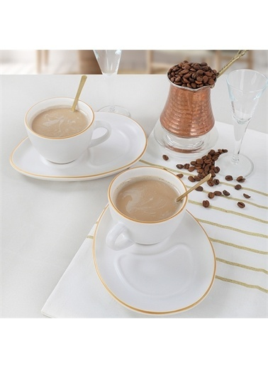 Keramika Kahve Takımı Renkli